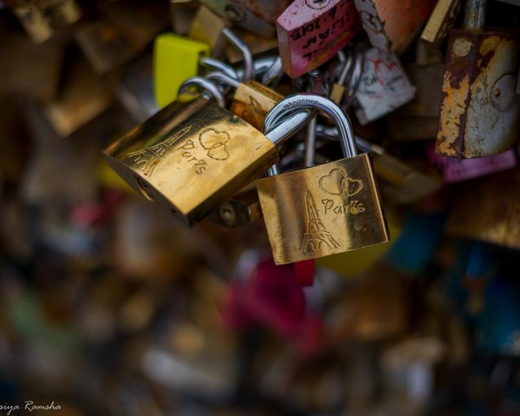 Love story в Париже