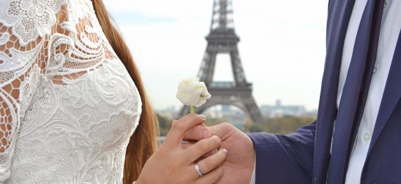 Организация свадьбы в Париже