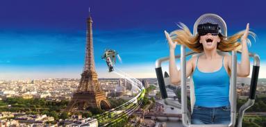 полет над Парижем