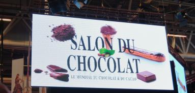 Выставка шоколада в Париже